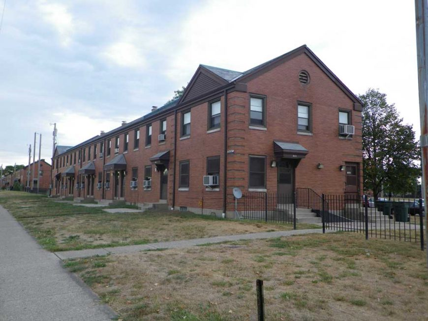 DeSoto Bass apartments and townhouses