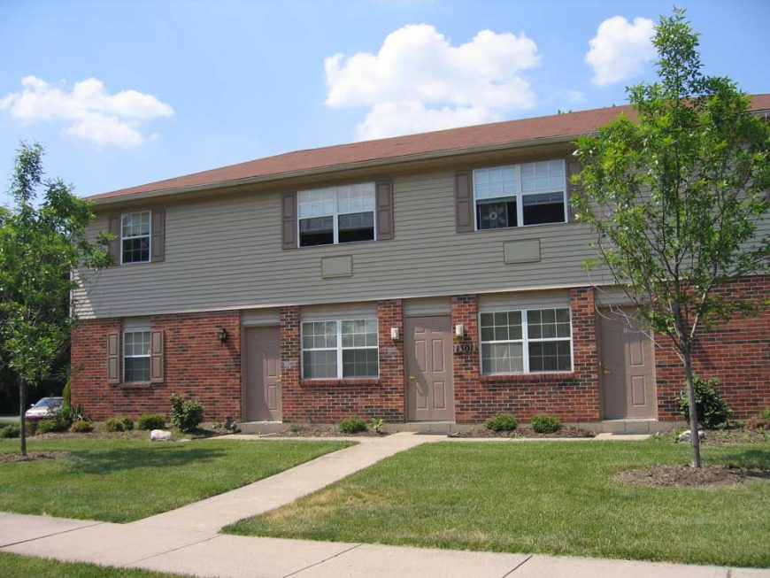 Red Bluff apartment building