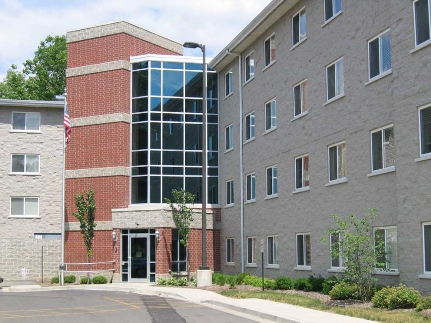 Wilmington apartment building